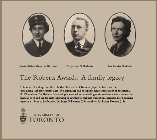 Image showing the Legacy of Roberts Scholarship and Fellowship