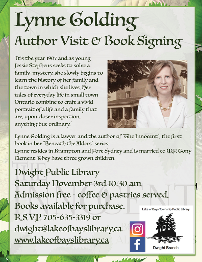 Dwight Public Library Book Signing